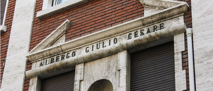 Hotel Giulio Cesare - Location